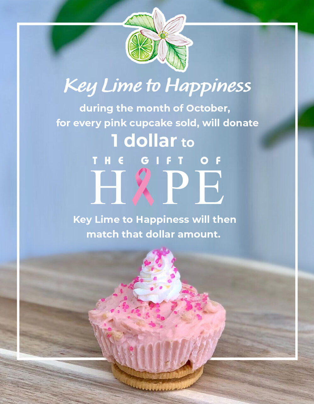 Key Lime to Happiness - Fundraiser for the Gift of Hope