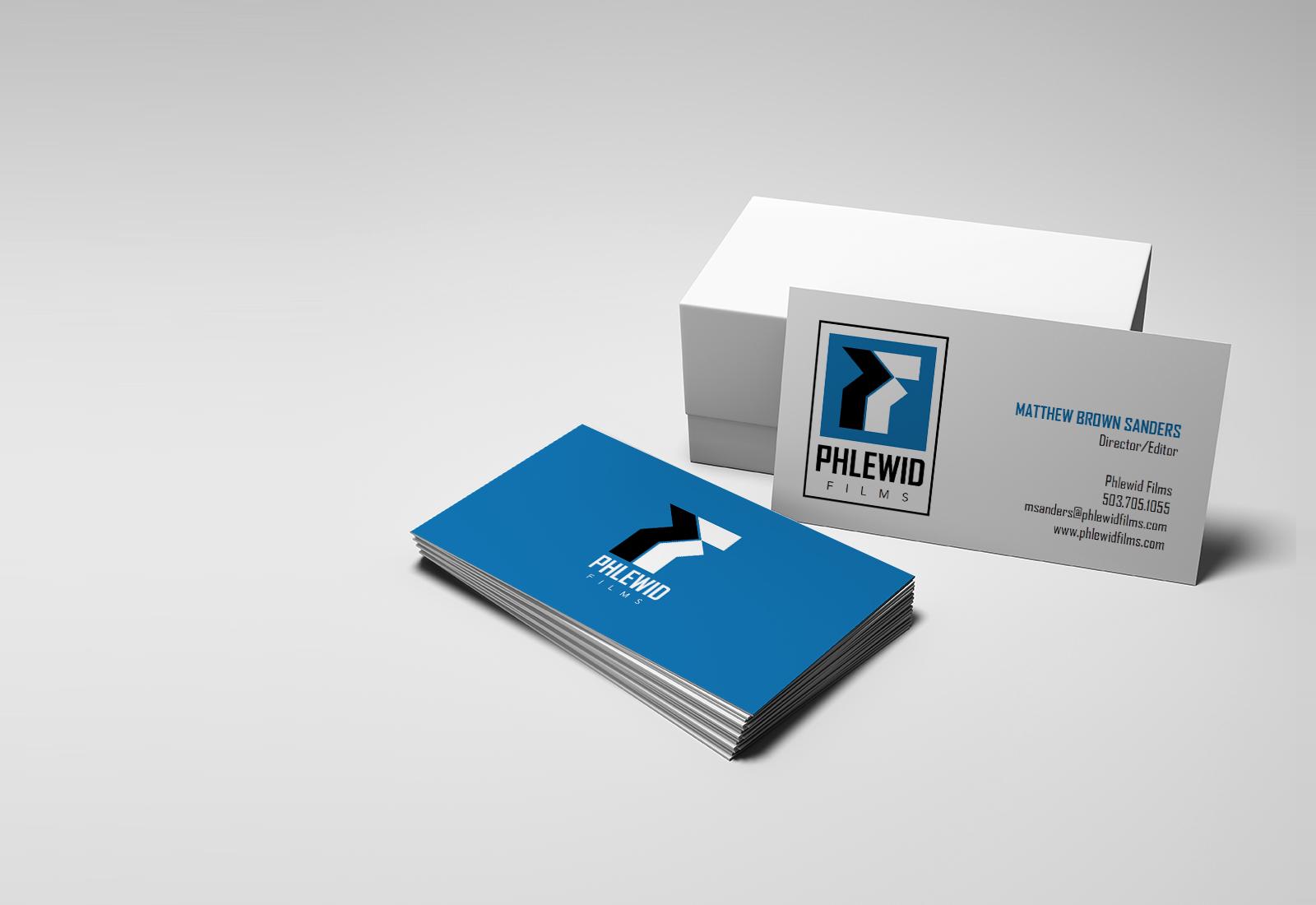 Phlewid Films Branding