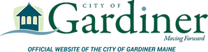Logo for City of Gardiner, Maine.