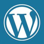 Logo for WordPress.org and WordPress.com.