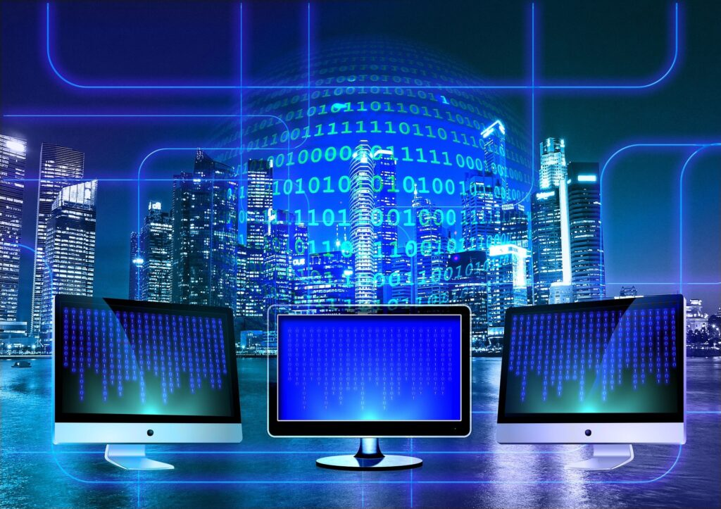 computadoras conectadas