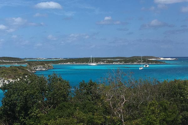 yacht charters in the Bahamas