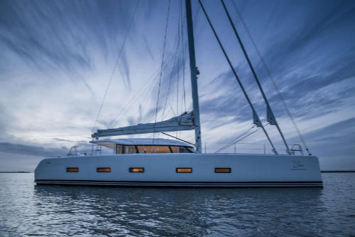 racing design Feres catamaran Cygnus Cygnus