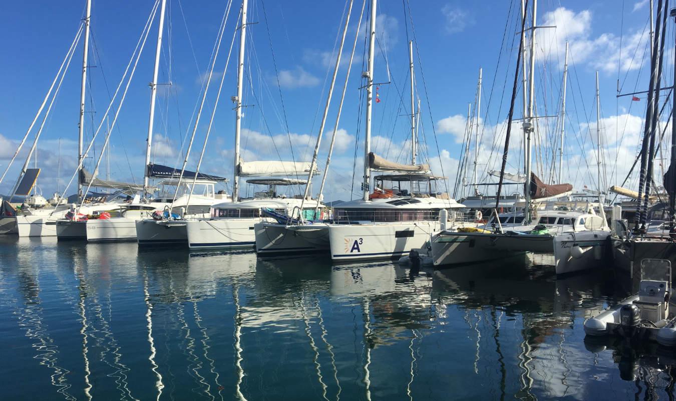charter a catamaran