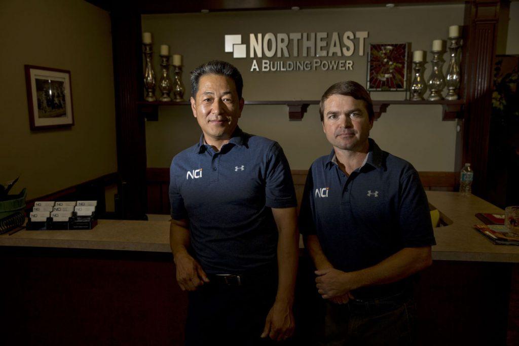 David Cheon and Will Massey