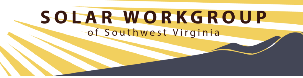 Logo image for the Solar Workgroup of Southwest Virginia