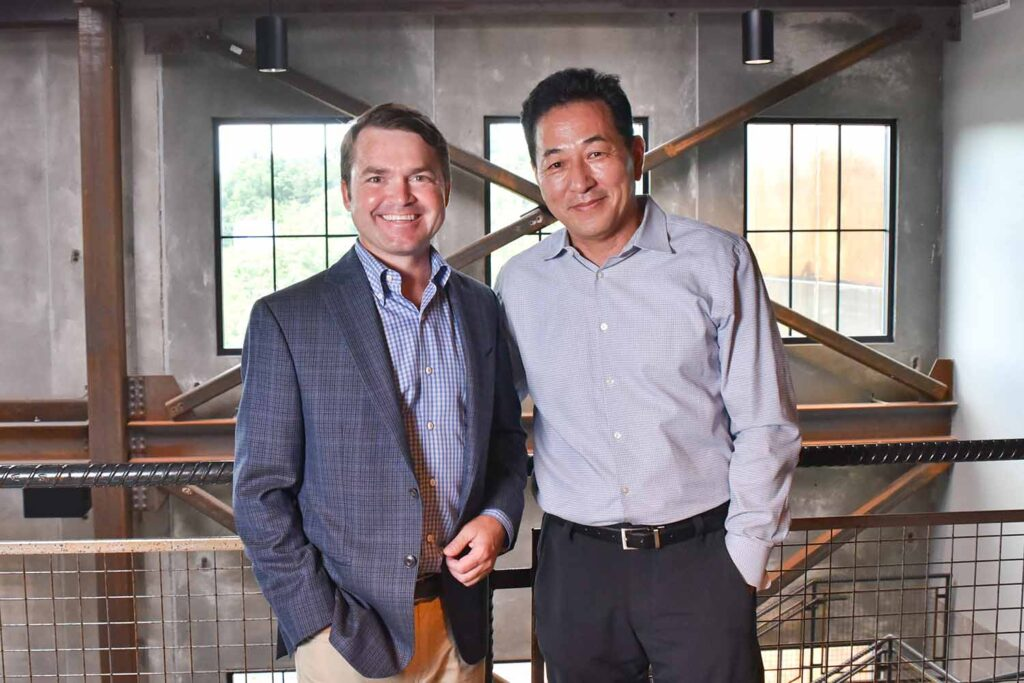 Image of NCI Co-Presidents David Cheon and Will Massey