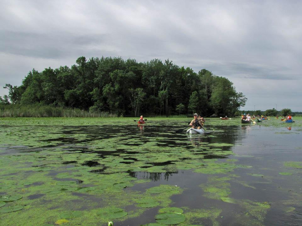 Canoe-kayak trip21 6-5-10 SilverCrk Inlet