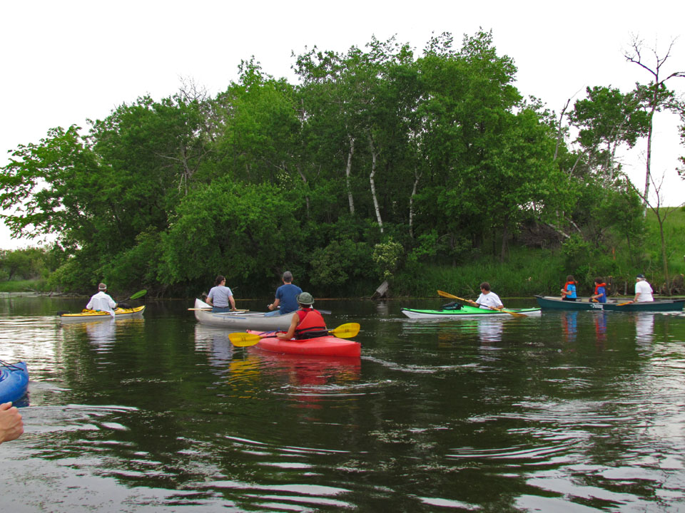 Pools Hill 6-4-11 canoe-kayak trip1
