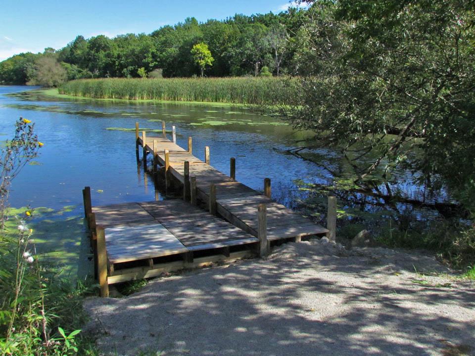 Spaulding's Bridge property 9-14-11 pier