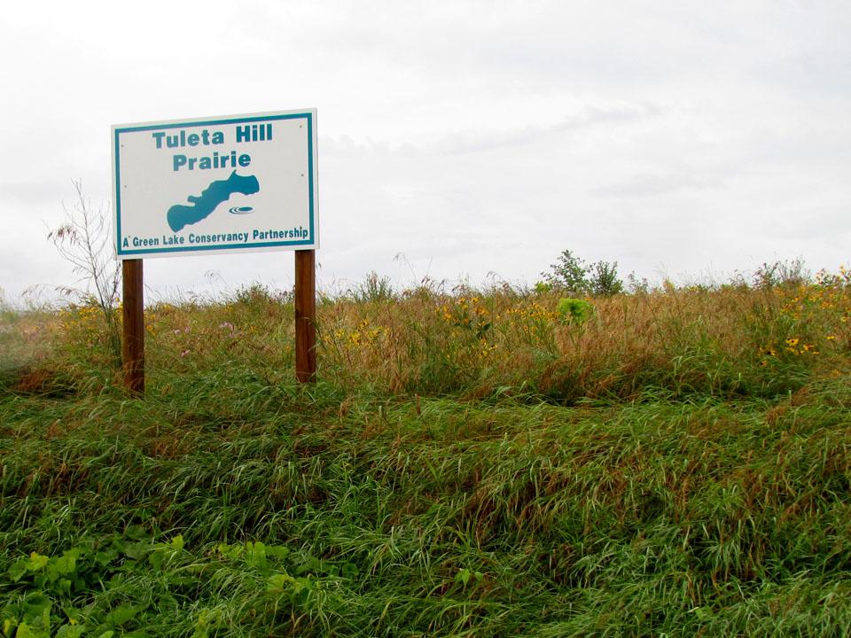 Tuleta Hill Prairie sign1 7-27-11
