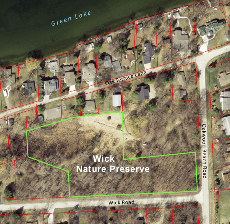 Wick Nature Preserve map 2014