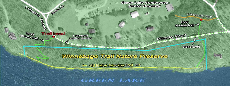 Winnebago Trail map 2021