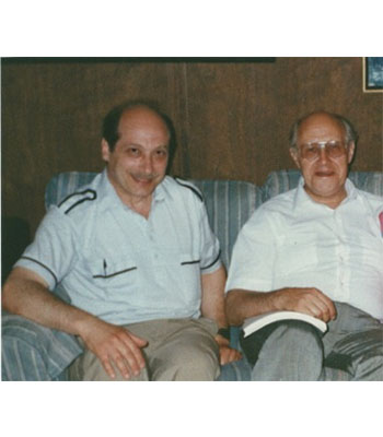 With Rostropovich
