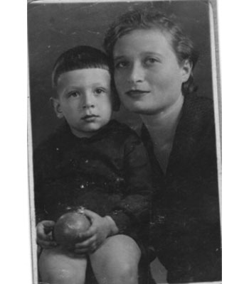 Childhood Photo With Mother
