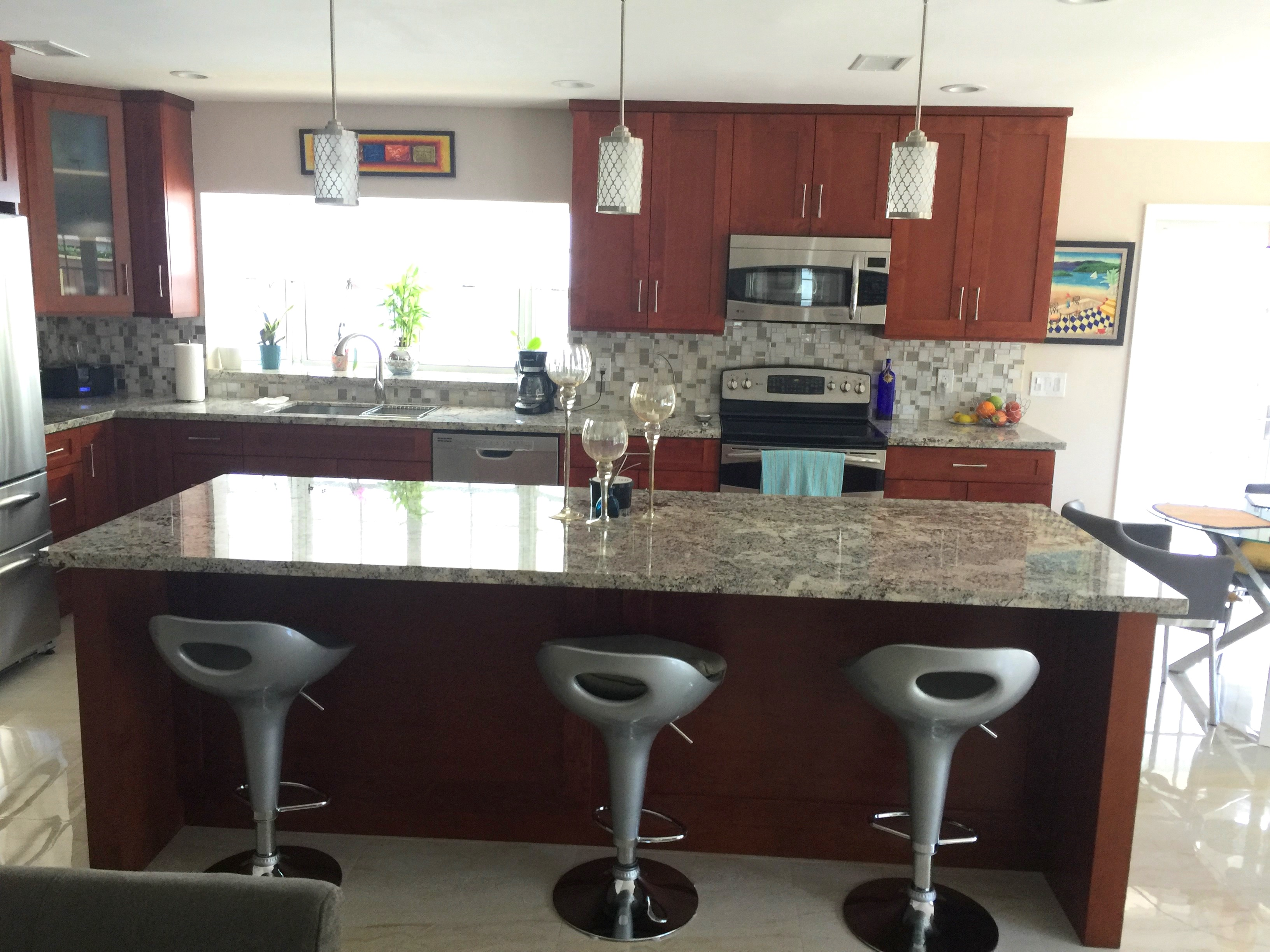 All Wood Kitchen Cabinet Installation- Universal Cabinets and Closets