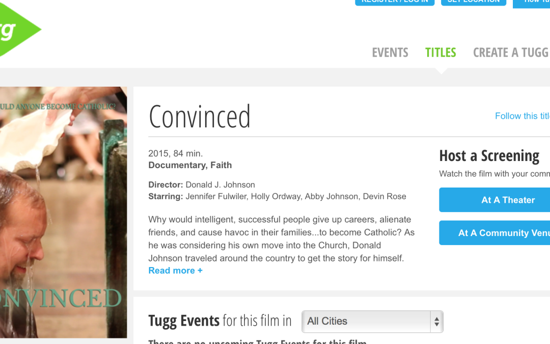 Find a Screening of Convinced in Your Community (Or Host One Yourself!)