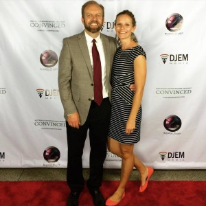 Don and Kendra at the premiere of Convinced in October.