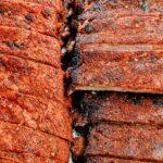 Memphis style Pork Spareribs