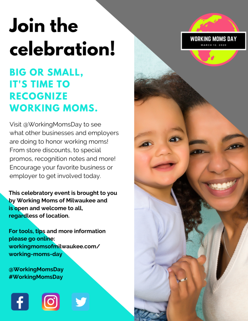Working Moms Day Flyer (Side 2)