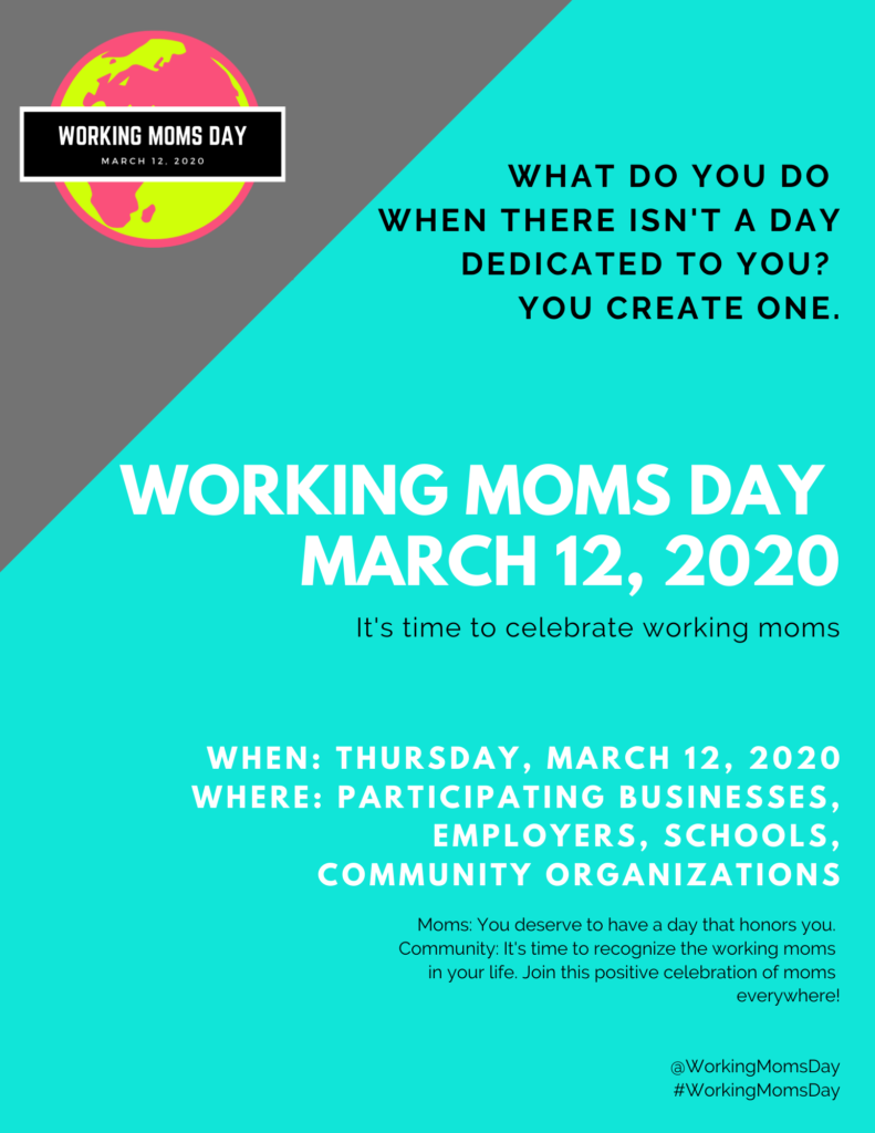 Working Moms Day Flyer (Side 1)