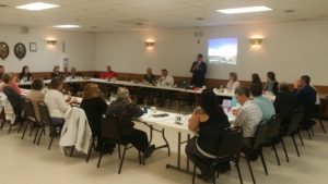 Mike Herro w/ Xcel Energy was our guest speaker at our May meeting