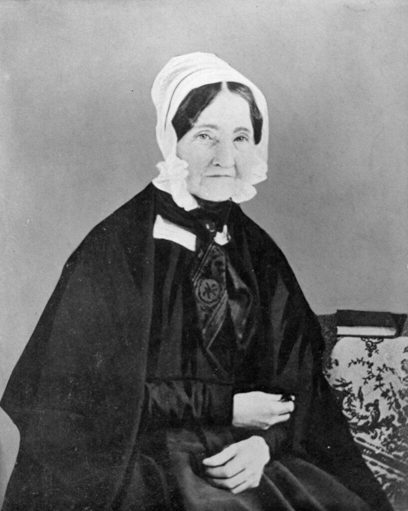 Photograph of Mrs. Ann Hite, taken in 1851