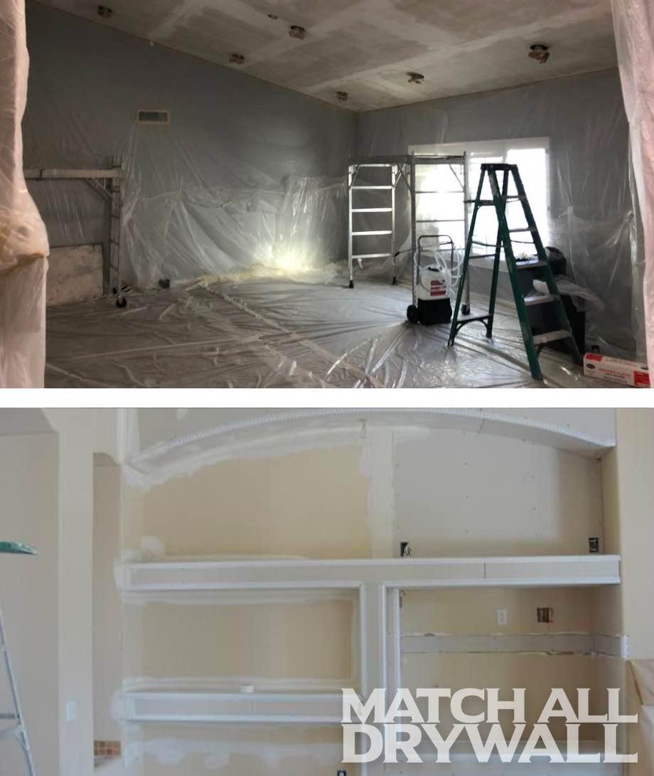 Professional Drywall Room Prep