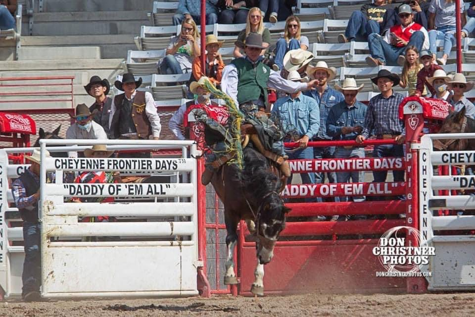 Saddle Bronc and Bareback Riding