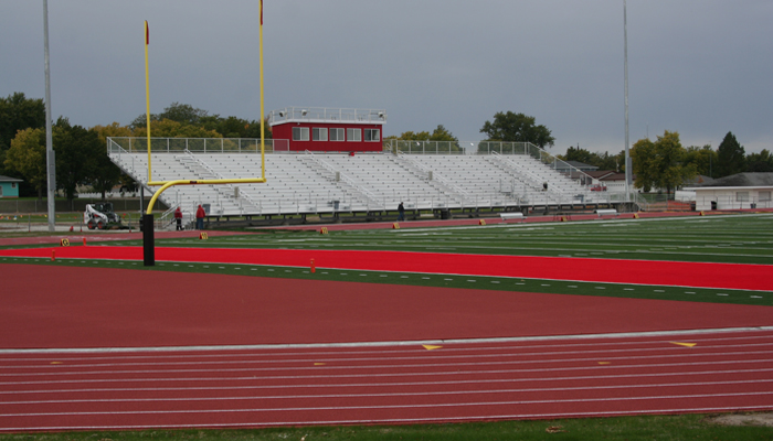 Boone Central HS Turf and Track, Albion, NE