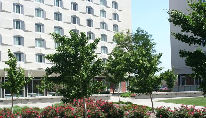 Univ of NE Harper Schramm Smith Courtyard, Lincoln, NE