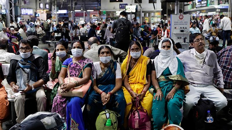 India Shuts Down Domestic Flights, Trains in Coronavirus Battle