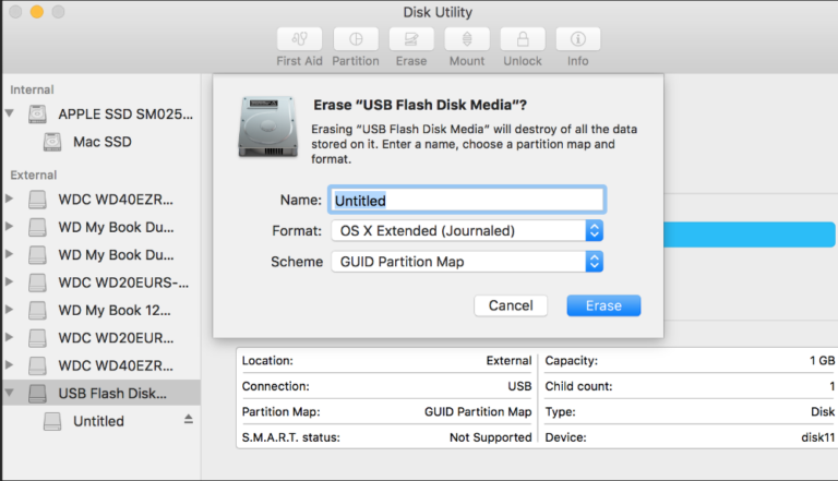 How to format your hard drive in Mac to be used on both Windows and Mac?