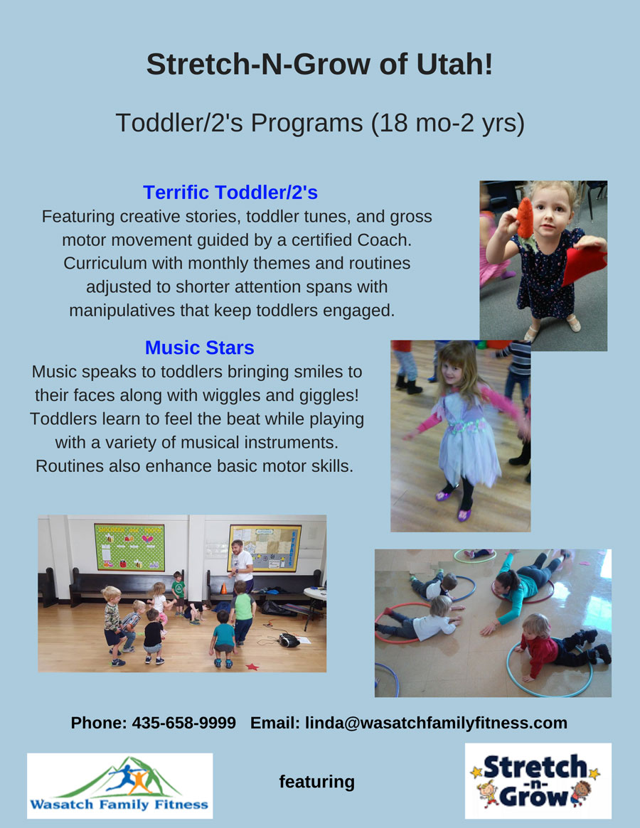 flyer for toddle programs