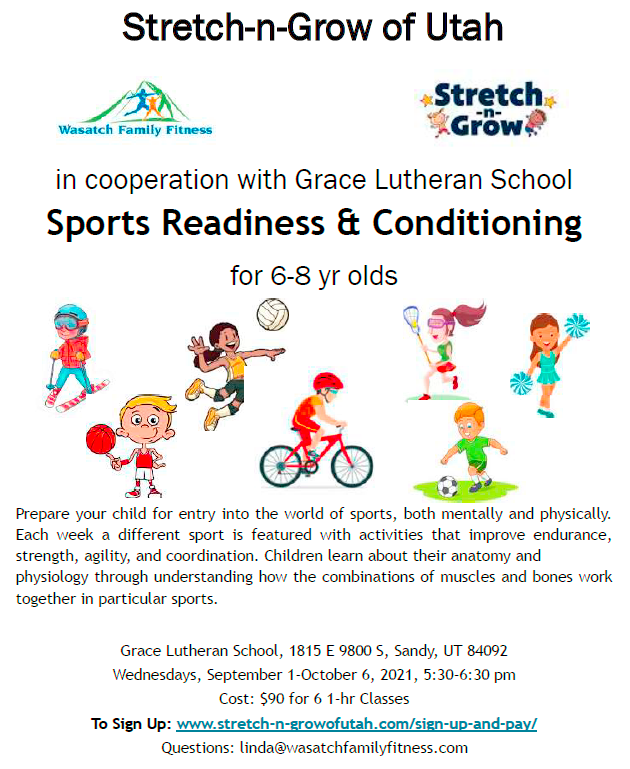 Sports Readiness Flyer Sept Oct 2021