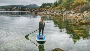 Tara Kinden SUP Newfoundland
