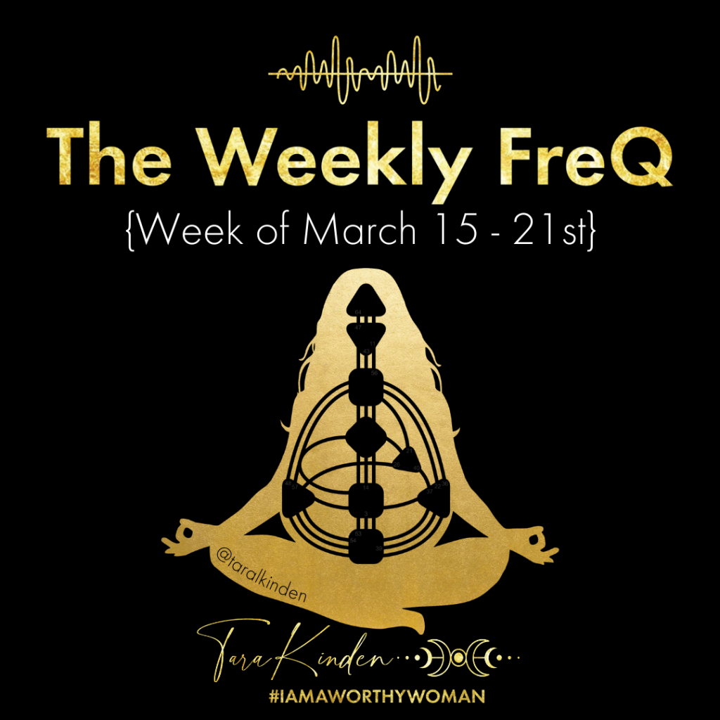 The Weekly FreQ March 15 -21st