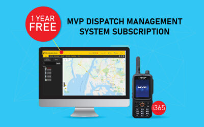 Free 1 Year Subscription of MVP Dispatch Management System
