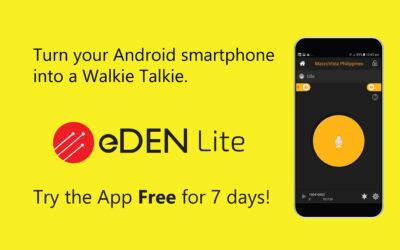 eDEN Lite Free Trial for 7 Days