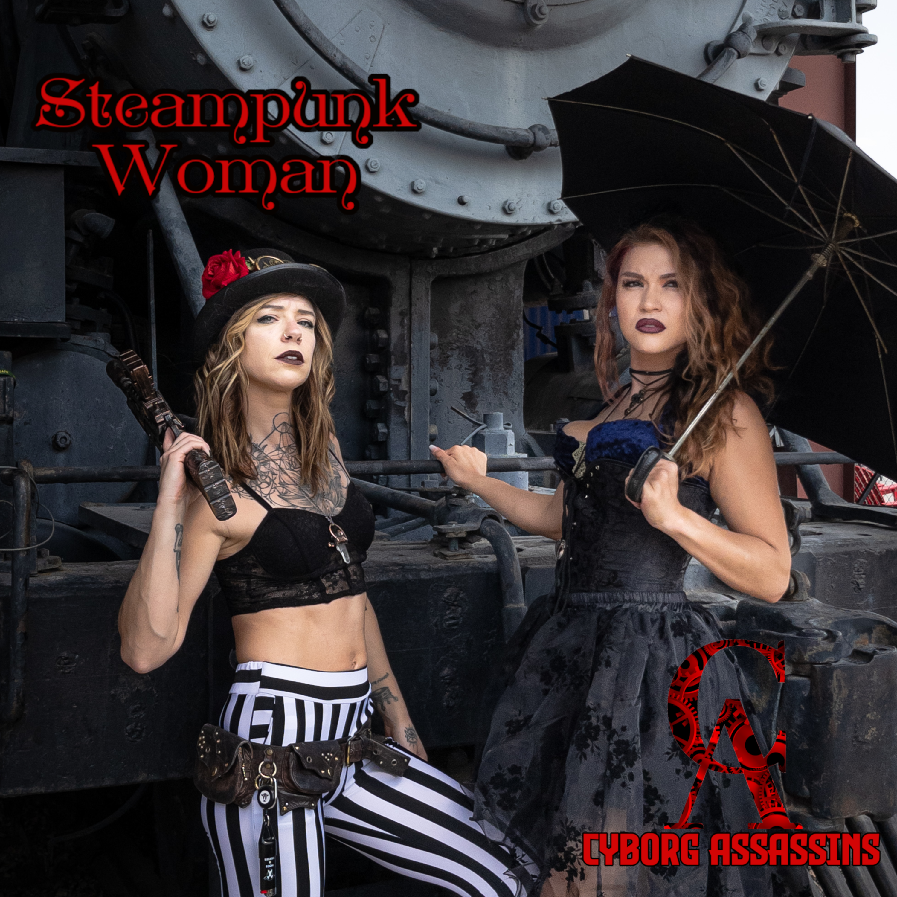 Cover art for Steampunk Woman by Cyborg Assassins