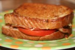 Garlicky Bacon and Tomato Grilled Cheese Sandwiches