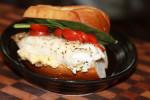Baked Fish Sandwich