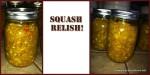 Squash Relish