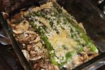 Panko and Blue Cheese Asparagus