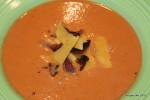 Creamy Tomato & Bacon Soup