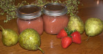Strawberry Pear Sauce  (could use apples too) — Water Bath or Freeze
