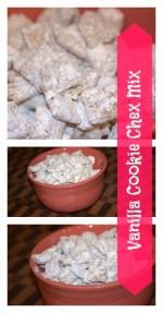 Vanilla Cookie Chex Mix