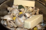 Wine Mushrooms AKA The Pioneer Woman's Burgundy Mushrooms