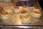 Egg and Cheese English Muffins (Freezer Breakfast)