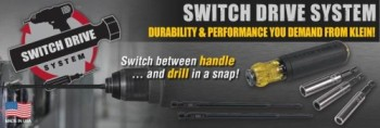 New Switch Drive Handle from Klein Tools